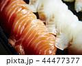 サーモンと白身魚の寿司 44477377