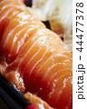 サーモンと白身魚の寿司 44477378