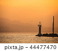 夕日 夕焼 日没の写真 44477470