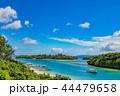 川平湾 風景 グラスボートの写真 44479658