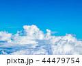 雲 空 青空の写真 44479754