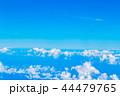 空 青空 雲上の写真 44479765
