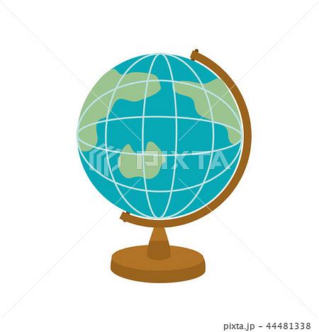 地球儀 イラスト 44481338