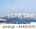 横浜ベイブリッジ ベイブリッジ 橋の写真 44481470