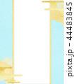 金箔 雲 和柄のイラスト 44483845