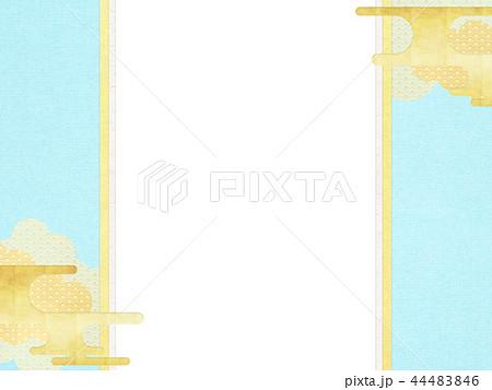 和-和柄-和風-背景-金箔-雲-霞-のし紙-ご祝儀袋 44483846