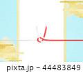 和-和柄-和風-背景-金箔-雲-霞-のし紙-水引-ご祝儀袋 44483849