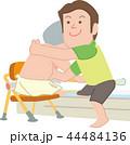 介護 ヘルパー 入浴のイラスト 44484136