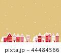 クリスマス 町並み背景 44484566