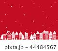 クリスマス 町並み背景 44484567