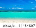 コンドイビーチ 竹富島 海の写真 44484807