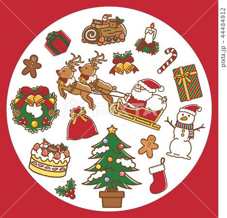 クリスマス セット 赤 44484912