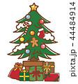 クリスマスツリー 44484914