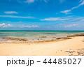 竹富島 ビーチ 海の写真 44485027