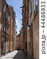 Old narrow street of Gamla stan, Stockholm 44486933