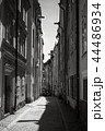 Black and white photo. Old Stockholm 44486934