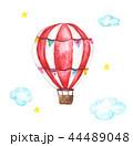 水彩画 バルーン 風船のイラスト 44489048