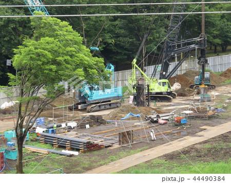 多摩平の森マンション建設工事 44490384