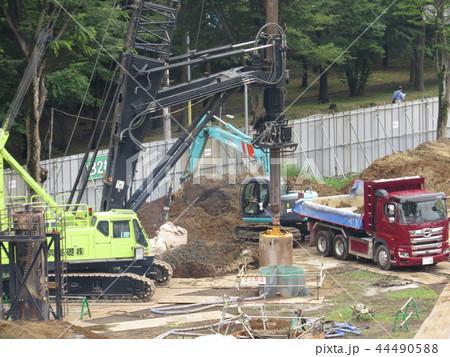 多摩平の森マンション建設工事 44490588