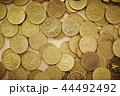 ユーロ 通貨 コインの写真 44492492