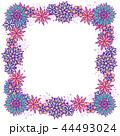 広場 正方形 スクエアのイラスト 44493024