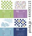 カレンダー ベクター 5月のイラスト 44493115
