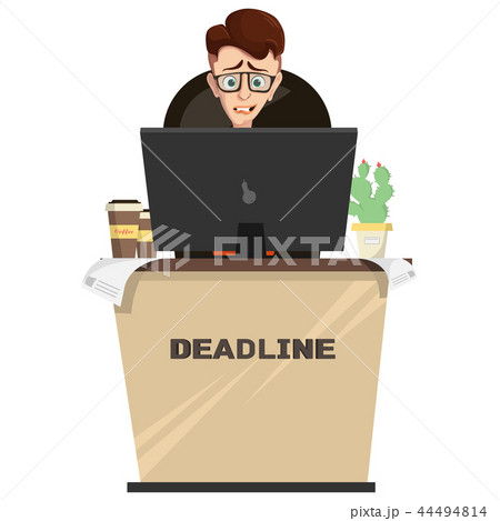 manager in workplace, deadline. 44494814