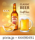 Classic Craft Beer Poster Vector Illustration 44496491