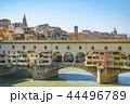 フィレンツェ ヴェッキオ橋 世界遺産の写真 44496789