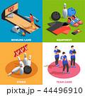 スポーツ チーム ゲームのイラスト 44496910