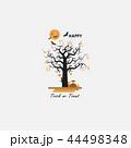 樹木 樹 ツリーのイラスト 44498348