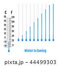 寒暖 気温 温度のイラスト 44499303