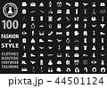 Fashion icons set 44501124