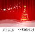 クリスマス 背景 コピースペースのイラスト 44503414