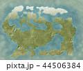 世界地図のイラスト 44506384