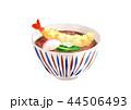 天ぷら蕎麦 年越し蕎麦 蕎麦のイラスト 44506493