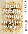 アルファベット 文字 小文字の写真 44508803