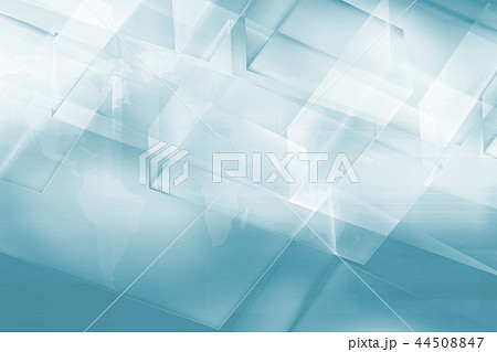 Abstract background with transparent 3d boxes 44508847