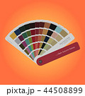 Autumn colors palette guide for print, guide book 44508899