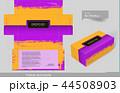 Tissue box template concept series 44508903