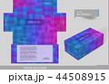 Tissue box template concept series 44508915
