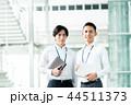 ビジネスマン ビジネス 手帳の写真 44511373