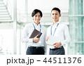 ビジネスマン ビジネス 手帳の写真 44511376