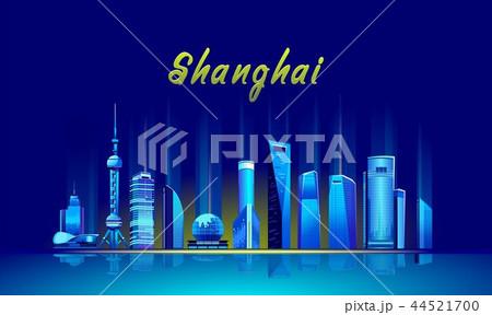 Shanghai Neon City 44521700
