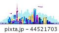 Shanghai embankment banner 44521703