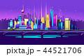 Shanghai Neon City 44521706