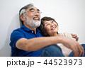 シニア 夫婦 家族 寄り添う 高齢者 44523973