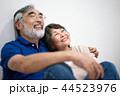 シニア 夫婦 家族 寄り添う 高齢者 44523976