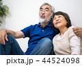 シニア 夫婦 家族 寄り添う 高齢者 44524098