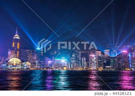 香港 夜景 シンフォニー・オブ・ライツ 44526121